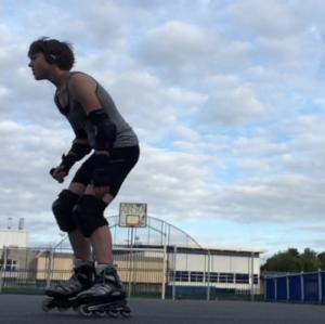 lexy skating inline
